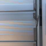 Aluminiumblendenverschluss-Fenster mit reizbarem Verschluss K09014