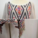 Frauen-spezielle Entwurfs-Herbst-Poncho-Oberseiten