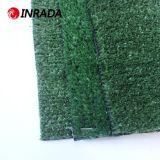 高密度景色の庭の人工的な草および25mmの余暇の景色の合成物質の泥炭