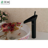 Black Orb Teapot Brass Bathroom Basin Faucet (Q13808HB)
