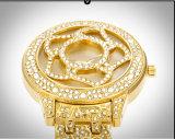 Ontwerp van de Wijzerplaat van het Polshorloge van de Diamant van de Manier van de Bloem van Belbi maakt het Speciale voor Vrouwen Goud, &#160 waterdicht; Zilver in de Merknaam die van China wordt gemaakt