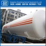 Tanker van de Aanhangwagen van Co2 van China de Cryogene Vloeibare Semi
