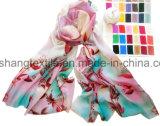 女性のためのWoman 6つのカラー絹のスカーフ