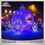 حارّ عطلة عيد ميلاد المسيح [3د] قرع عربة حمّالة زخرفة ضوء