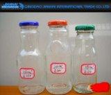 bottiglia di vetro di Caldo-Vendita 270ml per cola, Sprite, bevanda gassosa, latte di soia