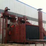 Máquina del chorreo con granalla de la rueda de las estructuras de acero del transportador de rodillo (Q69)