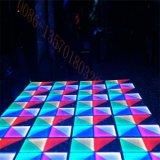 DMX LED Dance Floor que baila el azulejo para el partido casero de DJ de la boda del hotel