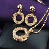 حارّ عمليّة بيع تقليد نساء دائرة تصميم شبكة بلّوريّة مجوهرات مجموعة