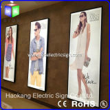 СИД Aluminum Picture Frame Advertizing Light Box Used на Shopping All Advertizing