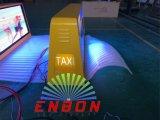 광고를 위한 P5 풀 컬러 택시 LED 표시 두 배 측
