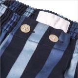 Tejido de algodón boxeadores corto Underwearwith Gaza Diseño Partern