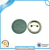 2.2cm Round Photo Custom Logo Lapel Pin avec Safety-Pin