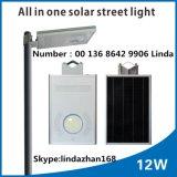 Strada solare esterna del LED che illumina l'indicatore luminoso di via solare di vendita caldo di Sq-212 LED con Paenl solare