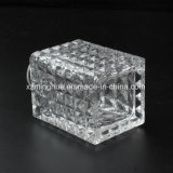 Frasco de vidro do difusor da forma do cubo