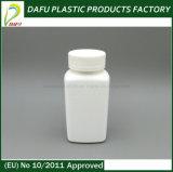Conteneur en plastique rectangulaire de pillule du HDPE 190ml