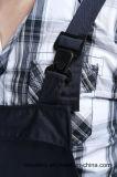 longue sûreté Bip d'avant de fermeture éclair de chemise de 65%P 35%C et vêtements de travail globaux de support (BLY4001)