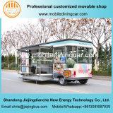 Goed Gebruikte Mobiele Elektrische Vrachtwagen voor het Verkopen van Goederen
