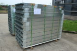 Fangda Israeli Aluminium Strips PVC revestido porta de aço interior