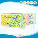 Almofada sanitária da absorção macia e rápida/guardanapo sanitário para meninas