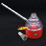 담배를 위한 Tobbacco Plastic+Metal를 위한 전자 연기가 나는 관