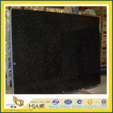 Opgepoetste Ster/de Zwarte Plakken van het Graniet van de Melkweg voor Countertopp Vanitytop (yqg-GS1016)