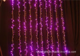 Vorhang-Wasserfall-Lichter der Weihnachtsdekoration-LED
