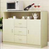 Мебель комнаты кухни обедая Sideboard с 2 дверями 3 ящика