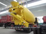 Camion del miscelatore di cemento del camion 6X4 della betoniera di HOWO A7 10m3