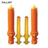 A pressão média de Ação Única de aço soldadas cilindros hidráulicos para venda