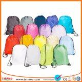 L'alta qualità variopinta ricicla i sacchetti di Drawstring di stampa