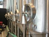 2つの容器が付いているパブのビール醸造所装置の蒸気の熱くするBrewhouse