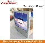 17 pouces TFT écran LCD de l'élévateur de la publicité Media Player Lecteur vidéo réseau WiFi HD PLEIN LED de couleur la signalisation numérique