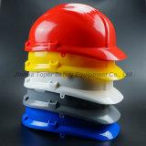 플라스틱 제품 회색 색깔 쉘 Pin 자물쇠 하네스 안전 헬멧 (SH503)