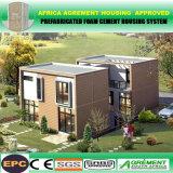Australien-vorfabriziertes preiswertes modernes galvanisiertes Stahlfertiginstallationssatz-Standardhaus