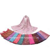 Fashion Jacquard Shawl Scarf повелительниц с Tassels