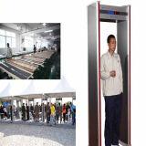 6/12/18 de caminhada do detetor de metais AT-IIID das zonas através do detetor de metais para o uso da prisão/aeroporto/escola
