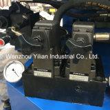 Duas cores PVC rotativo TPR Calçados Máquinas de moldagem por injecção directa