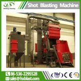 ISO Huaxing поверхности ремня на ударопрочность Blast Очистка машины