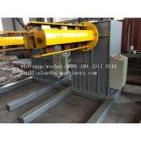 5 toneladas Decoiler hidráulico automático con el coche de bobina