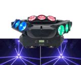 9 أعين عنكبوت ضوء [دمإكس512] [لد] متحرّك رئيسيّة ضوء [لد] حزمة موجية ناد [دج] ديسكو إنارة [كتف] ضوء