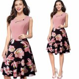 A - ligne Madame Working Dress de bureau de robe