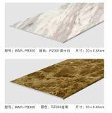 Intérieur 3 mm du panneau de plafond décoratif à l'UV pour hall en marbre