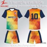 Uniformi di calcio del banco di sublimazione dell'attrezzo dei vestiti di modo di Healong da vendere