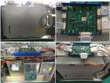 回転式接続機構レーザーの彫版機械が付いている安全20Wファイバーレーザーのマーキング機械