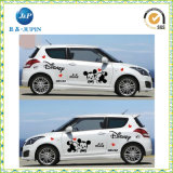 2016 Nova etiqueta de vinil Clear Clear Design Design no carro (JP-s031)