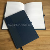 Custom High Quality PU Leather Gasket Sewing Notebooks Personal Agenda Hardcovers with PEN Holder