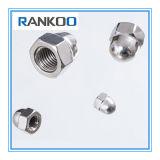 Écrous borgnes de dôme de l'acier inoxydable DIN1587