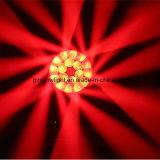 olhos da abelha do diodo emissor de luz do estágio do disco 19PCS que movem a luz principal, olho principal movente da luz B do diodo emissor de luz do olho da abelha 19X15W