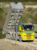 Pipe de haute précision utilisée dans le camion à benne basculante frontal