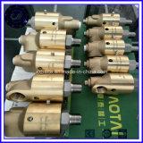 CNC personalizzato che lavora l'attacco snodato in acciaio alla macchina d'acciaio femminile maschio della giuntura rotativa dell'adattatore del NPT